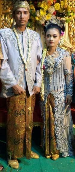 Pernikahan Gita dan Ana