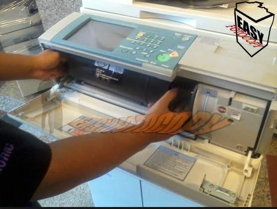 Cara Mengatasi Toner Fotocopy Yang Tidak Bisa Turun ke Developing