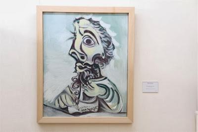 cuadro de Picasso en el Museo Goya de Castres. Blog Esteban Capdevila