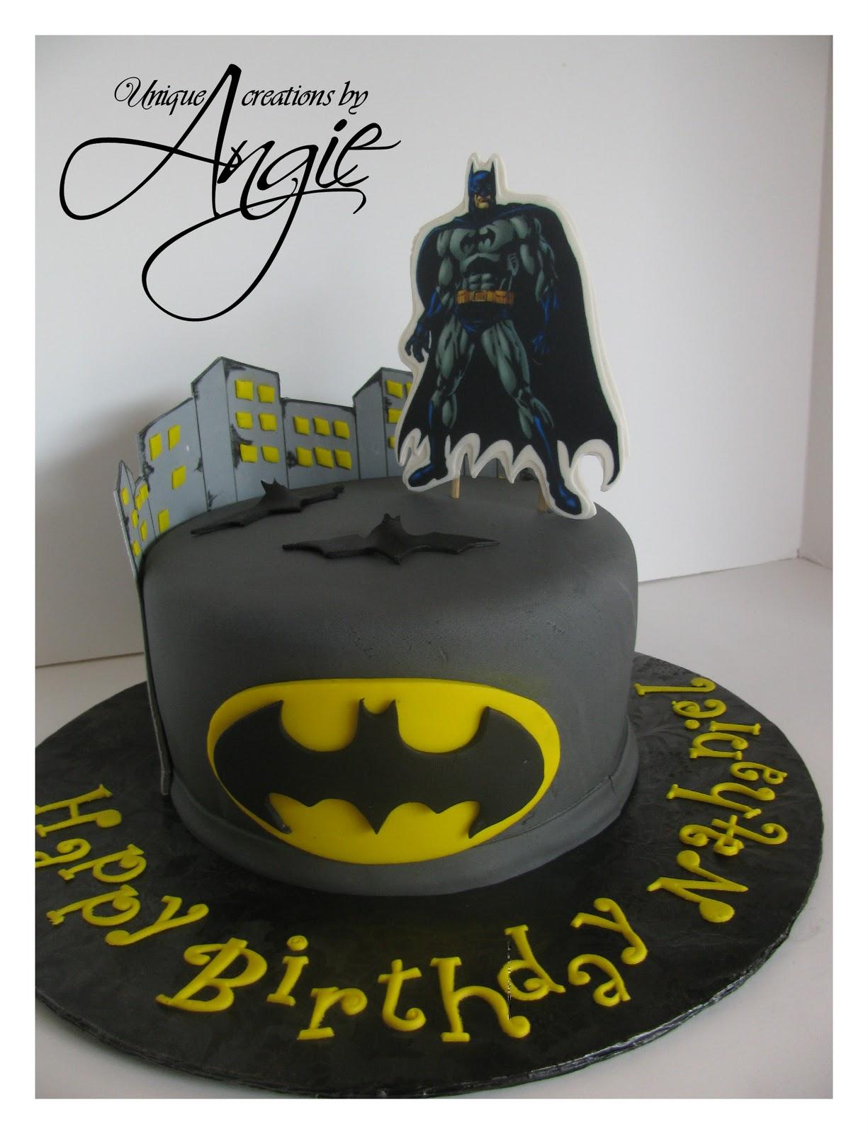 batman cake walmart