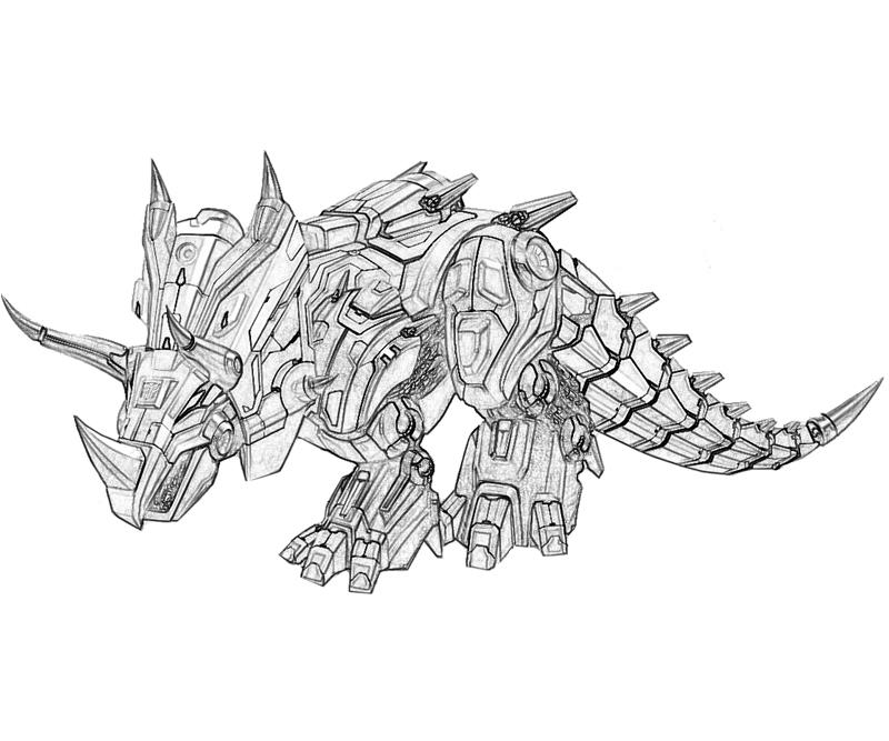 Transformers Fall of Cybertron Slag Art Coloring Pages title=