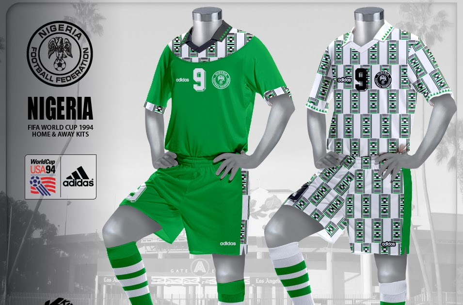 kire football kits nigeria kits world cup 1994
