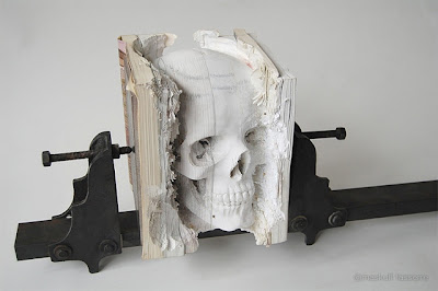 Skull of Books Seen On www.coolpicturegallery.us