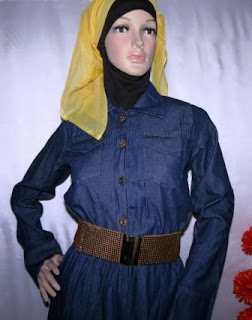Gamis Jeans Gaul