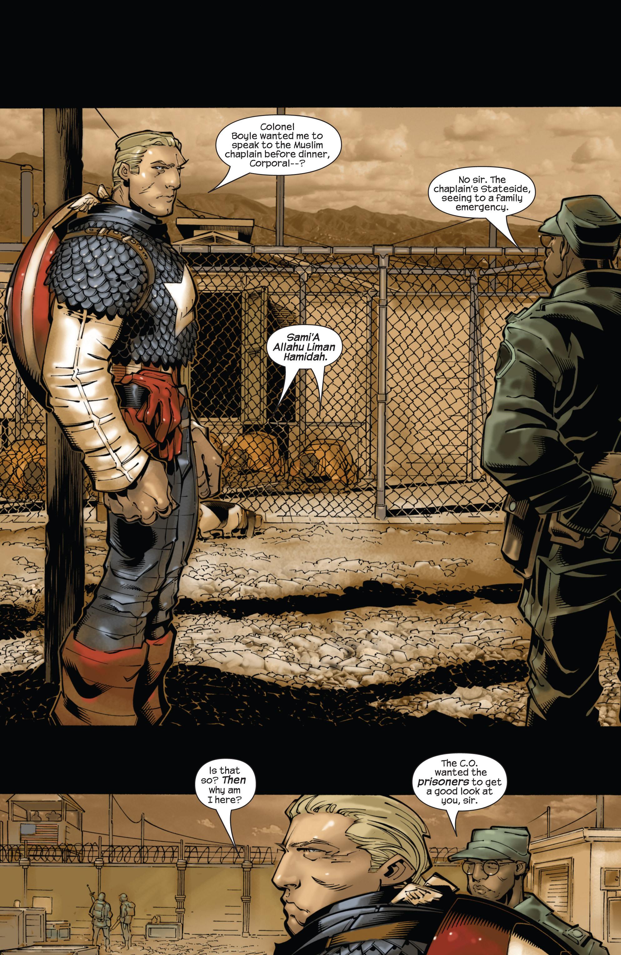 Captain America (2002) Issue #22 #23 - English 11