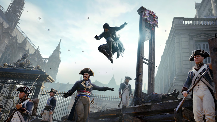 Assassin's Creed Unity game. HD 1920x1080