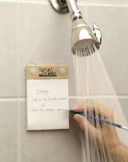 Image: Shop US - Now you can jot down those ideas with the AquaNotes Waterproof Notepad