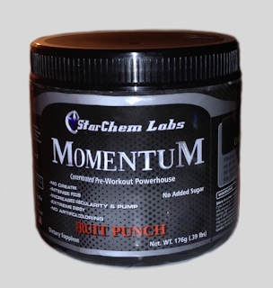 Pre Workout Momentum Fruit Punch Review