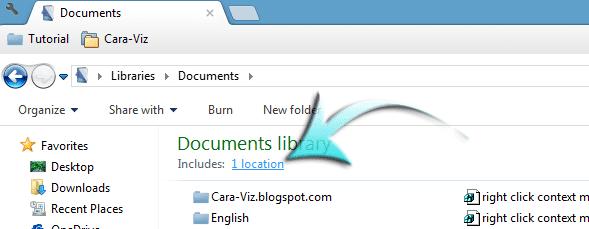 Cara Cepat Merubah Lokasi Default Penyimpanan Dokumen