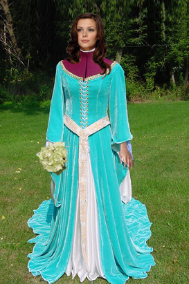 Blue Colored Wedding Dresses 51 Stunning Traditional Irish Wedding Dress