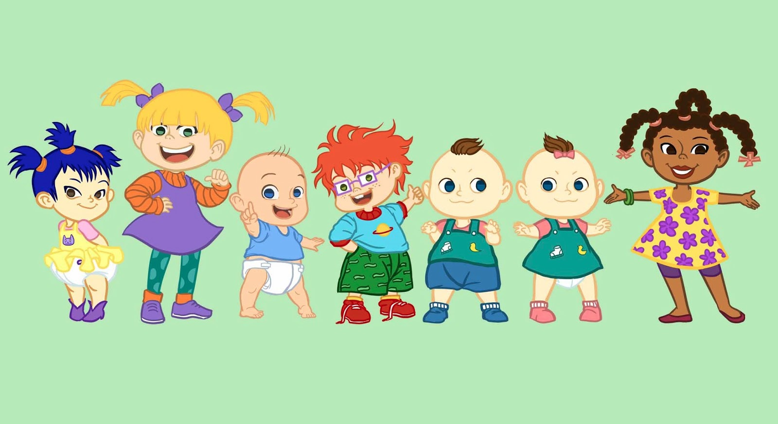 Rugrats Characters And Pictures Related Keywords - Rugrats ...