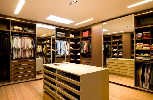 DECORACION DISEÑO DE WALK IN CLOSET
