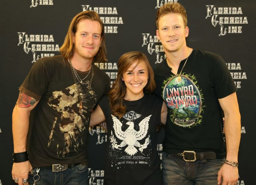Pgc abby heres to the good times and four meet and greet passes this past month i had the pleasure of meeting tyler hubbard and brian kelley of florida georgia line before they went on stage and blew everybody away m4hsunfo