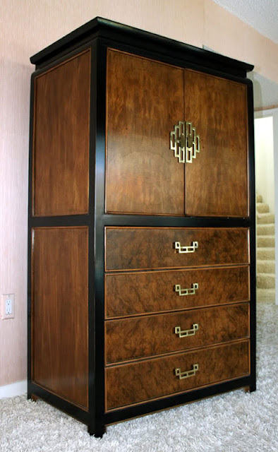 Vintage asian armoire from Furnish Me Vintage