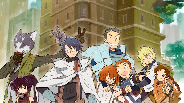 Log Horizon Anime 3y