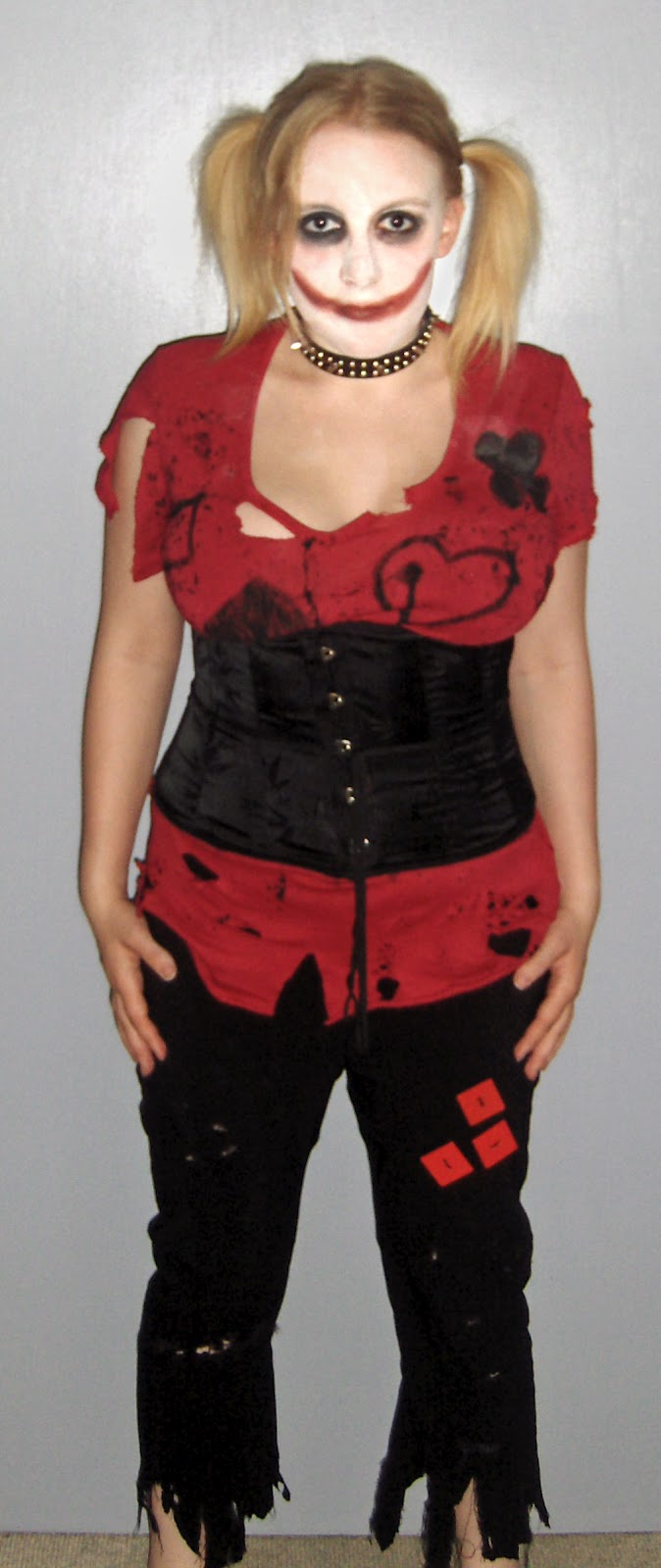harley quin harley quinn costume. Black Bedroom Furniture Sets. Home Design Ideas