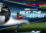 Beat the Keeper!