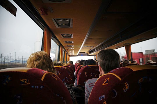 coach trip, contemporary, photography, photo, art,