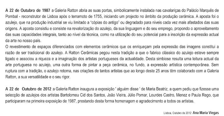1 alguem disse - Maria Beatriz