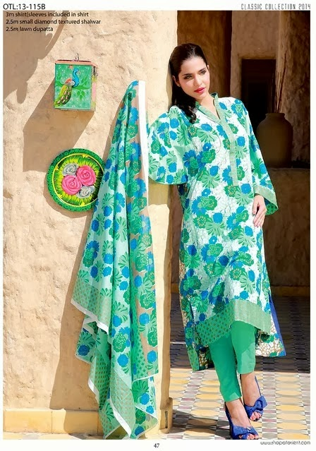 Chiffon and Embroidered Lawn