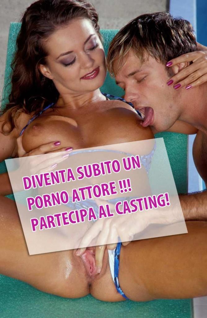 video prno italiani casting per porno attori