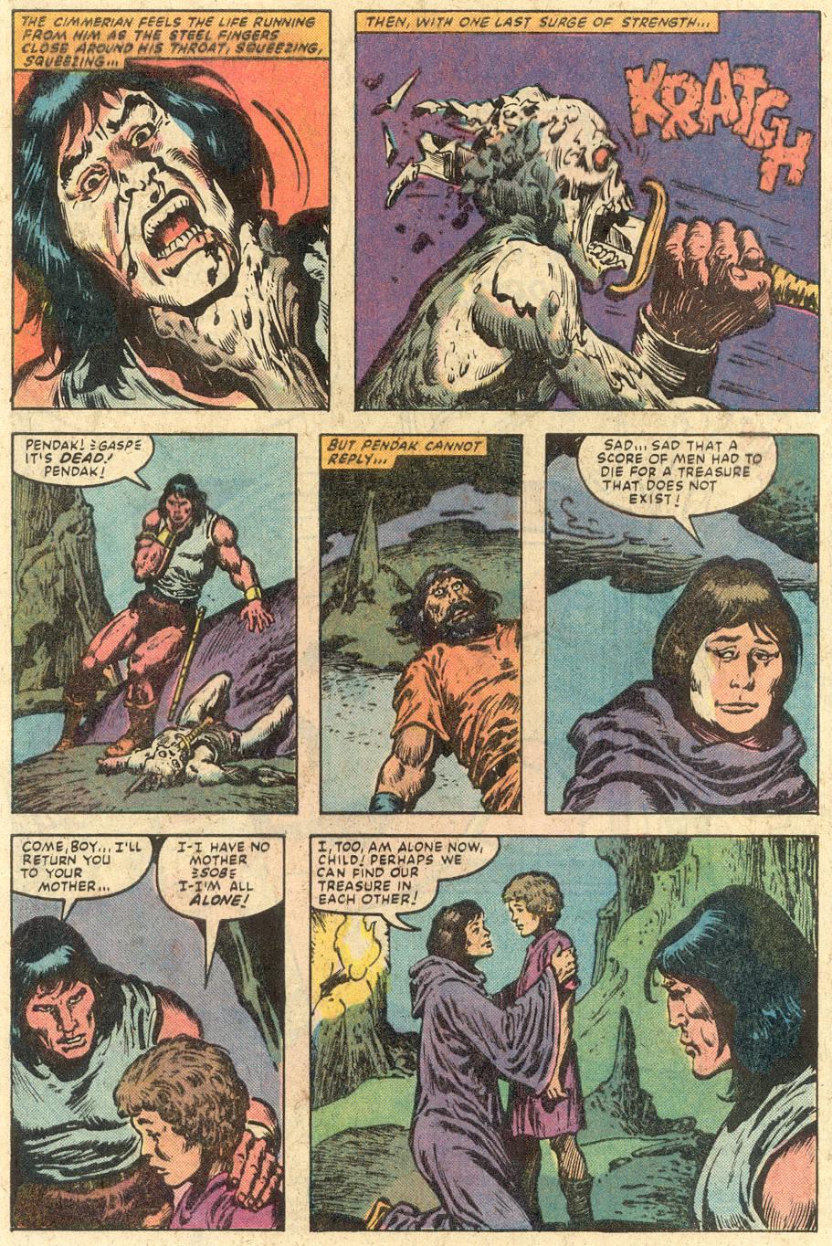 Conan the Barbarian (1970) Issue #149 #161 - English 23