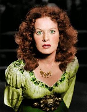 La Fitzsimmons, , con esos ojos verdes, ese pelo rojo ! qué criatura más hermosa !!!