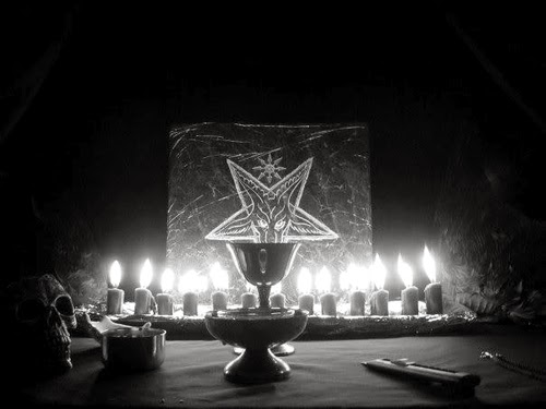 how to build a satanic altar