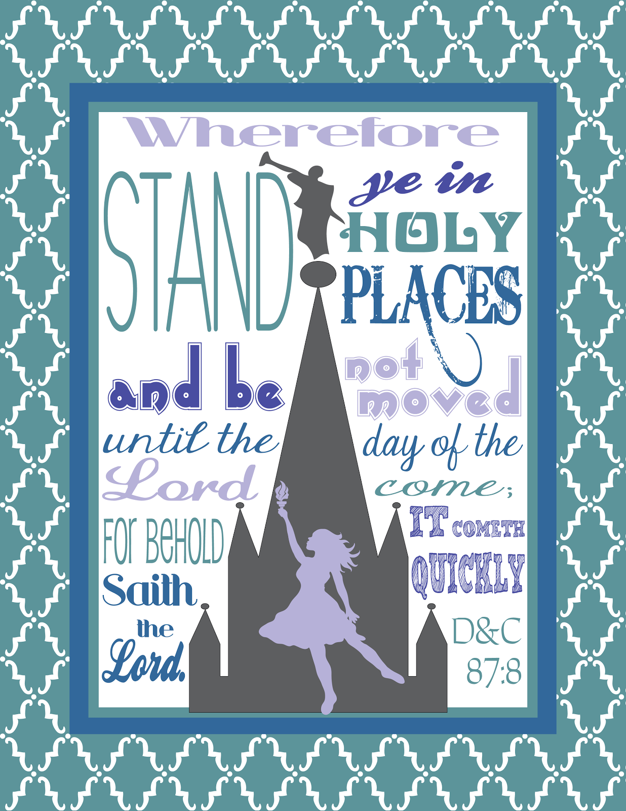 Stand Ye In Holy Places Binder Cover