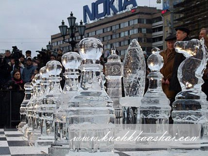 Ice Chess in Moscow