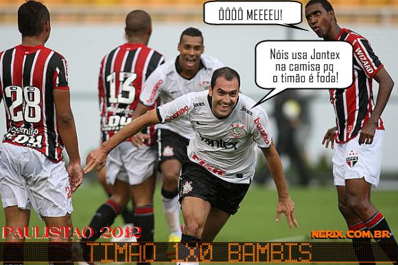 Zuando  Corinthians Vence S  O Paulo Pelo Paulist  O 2012