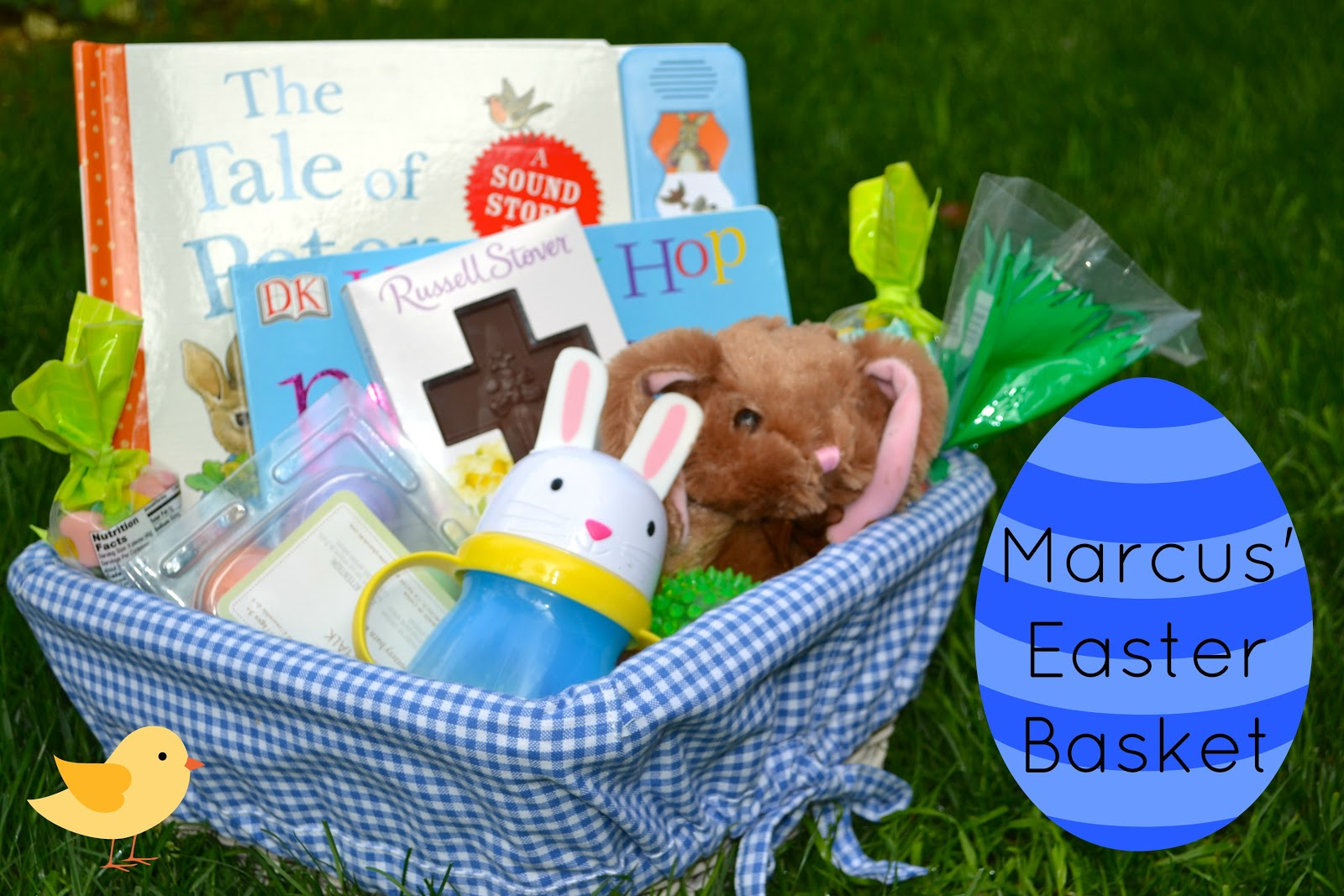 Macke monologues easter basket blog hippty hops last year marcus was all of 5 weeks old when easter rolled around he received an easter basket but lets be real kid had no idea what was going on negle Gallery