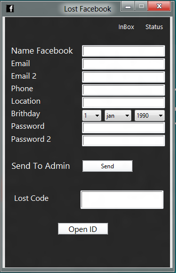 how to get password hashes from facebook