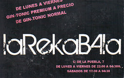Bar RelakaBala, C/ la Puebla, 7