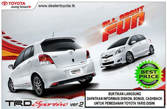 harga toyota yaris surabaya pesta diskon toyota avanza innova rush yaris fortuner camry. Black Bedroom Furniture Sets. Home Design Ideas