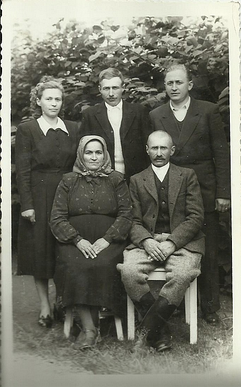 id. Károly András családja 1955. jún. 12.