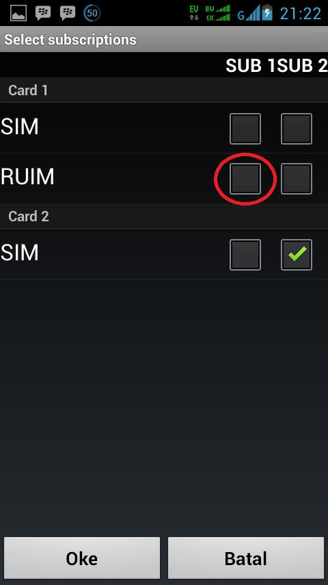 Cara Merubah Koneksi Smartfren CDMA ke GSM