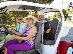 Mike, Louie and the Lindas travelin' in style in Apalachicola