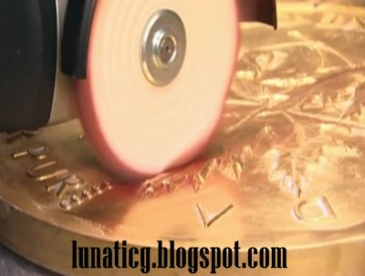 How they are making world largest gold coin video