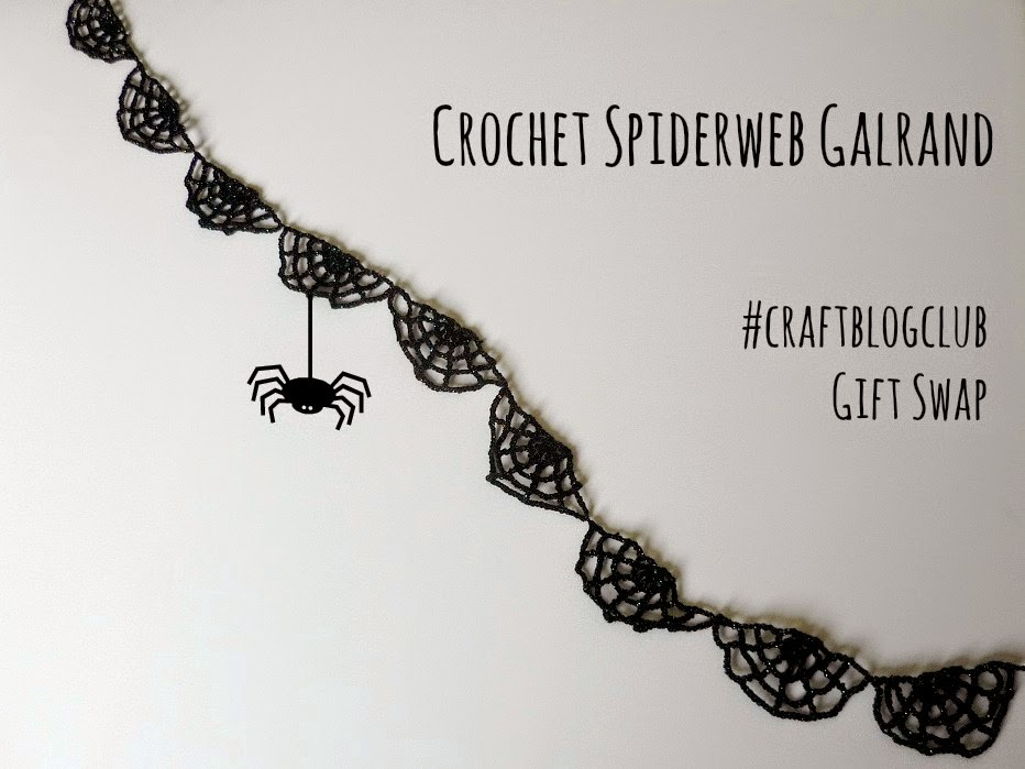 Abso Knitting Lutely Crochet Spiderweb Garland