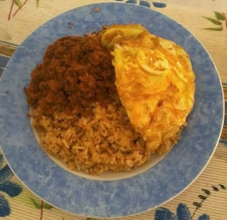 resep nasi goreng abon