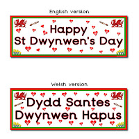 Happy St Dwynwen's Day
