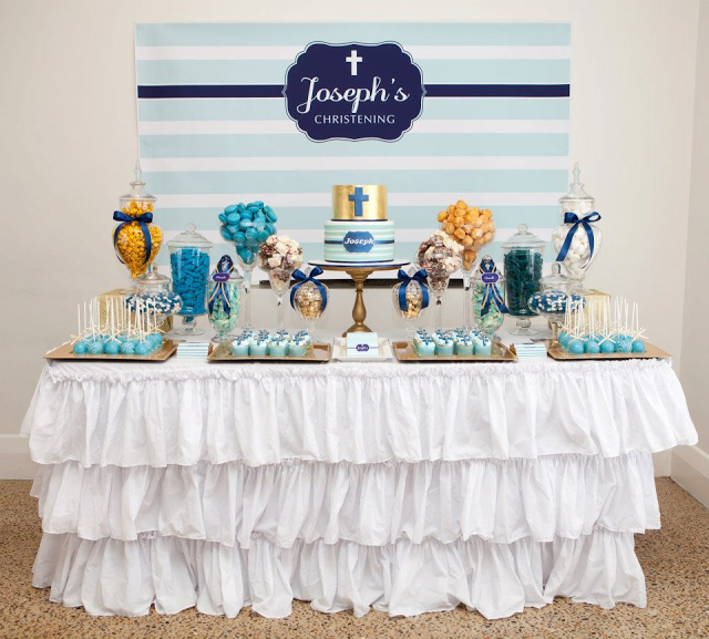 decoracao de festa infantil azul e amarelo:Eventos de Papel: Festa Infantil: Azul Claro & Azul Marinho