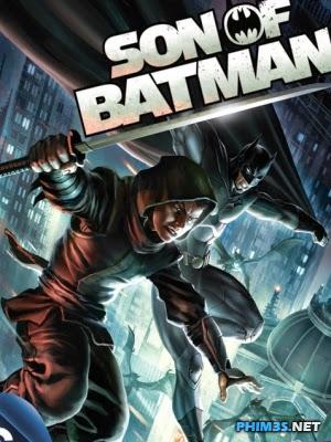 Con Trai Người Dơi - Son Of Batman 2014 Poster