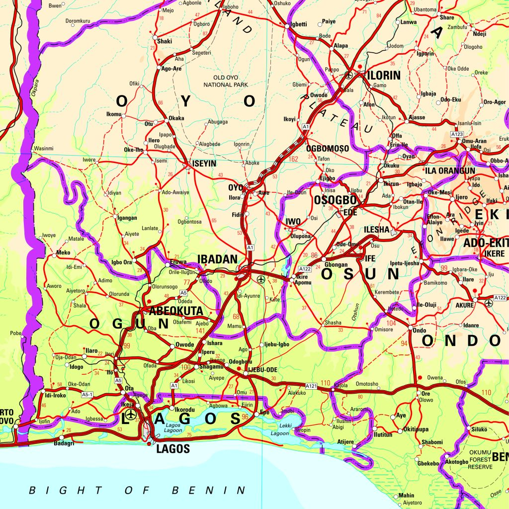 sample 2 of nigeria map click to enlarge