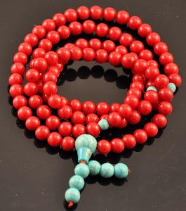 Coral Prayer Beads