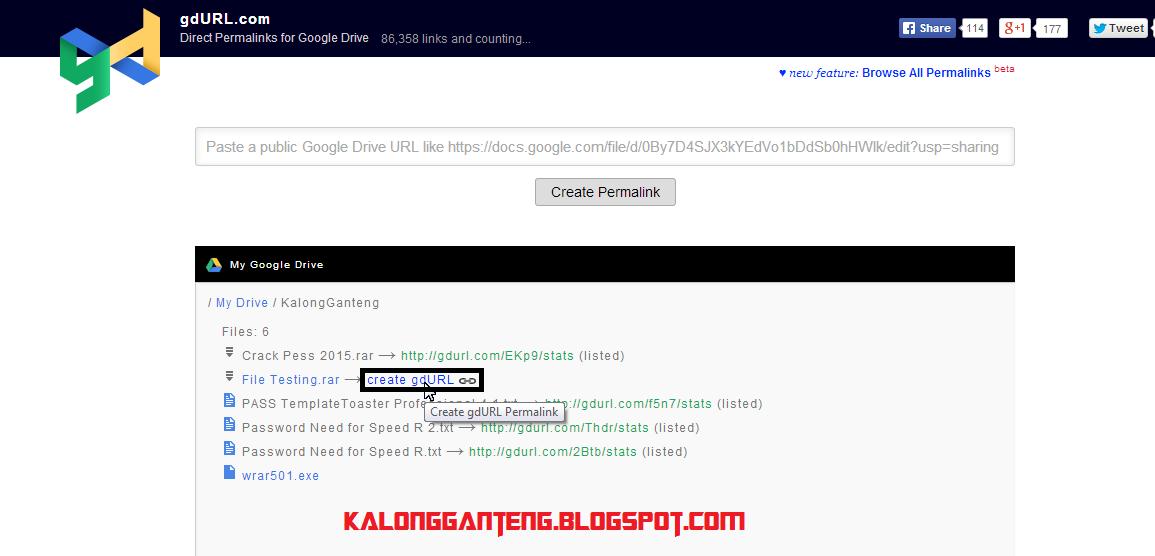 Cara Buat link Download dari Google Drive