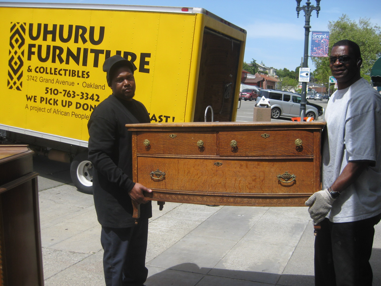 Uhuru Furniture Collectibles Donate Furniture
