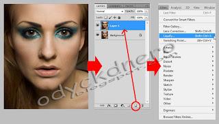 Membuat Efek Avatar Pada Foto Dengan Photoshop