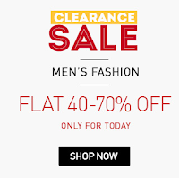 Snapdeal : Clearance Sale Flat 50% -80% off on Fashion Products – Buytoearn